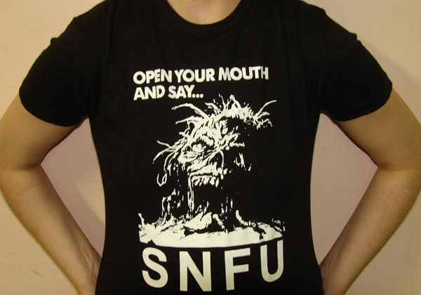 S.N.F.U Open Your Mouth Ladies Tee