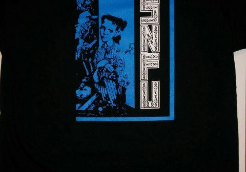 S.N.F.U.-Better Than A Stick In The Eye Blue Boy T-Shirt